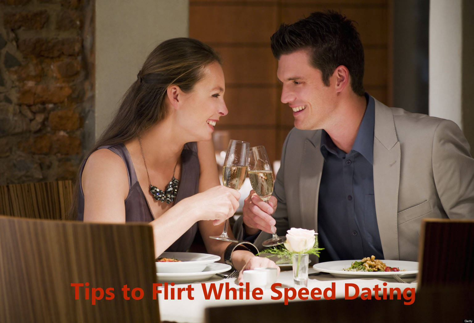 tips to flirt while speed dating